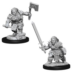Pathfinder Battles Deep Cuts - Female Dwarf Barbarian