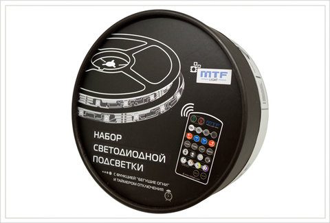 Наборы светодиодной подсветки MTF Light 5S2A185WW 5м (белый)