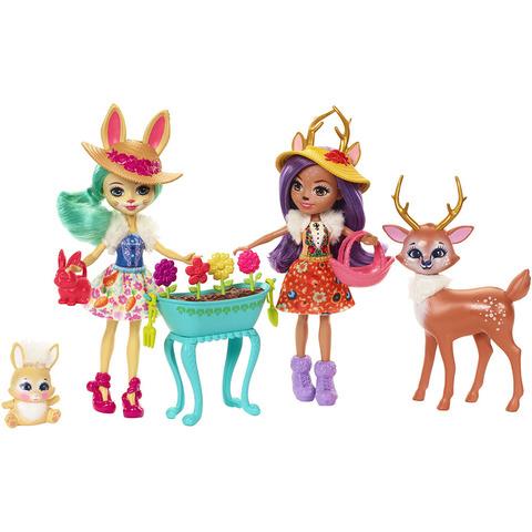 Игровой набор Энчантималс Данесса и Флаффи со зверюшками - Enchantimals, Mattel