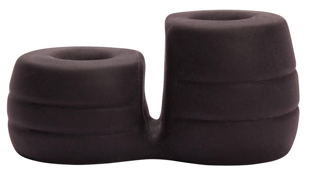 Эрекционные кольца: Широкое эрекционное кольцо с подхватом мошонки Thick Cock Ball Ring