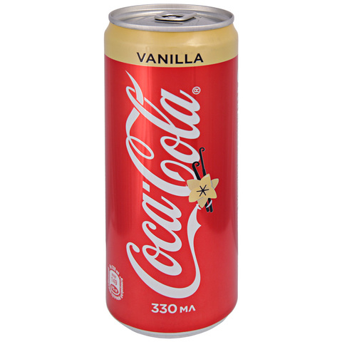 Coca Cola Vanilla 0,33 л