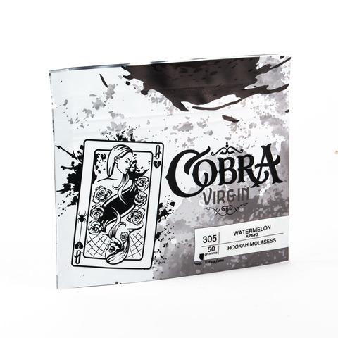 Кальянная смесь Cobra VIRGIN Арбуз (Watermelon) 50 г