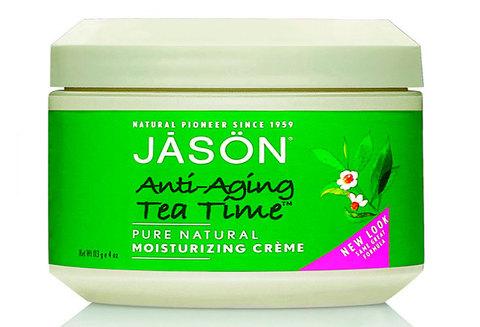 Увлажняющий антивозрастной крем с зеленым чаем, Jason