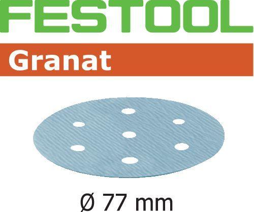 Шлифовальные круги STF D 77/6 Granat Festool
