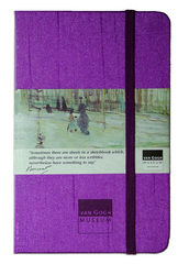 Van Gogh Sketchbook Purple