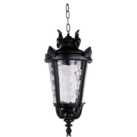 Светильник садово-парковый, 60W 230V E27 черный, IP44, PL4005 (Feron)