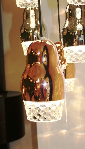 replica of Axo Light Fedora SP 1 pendant lamp ( GOLD )