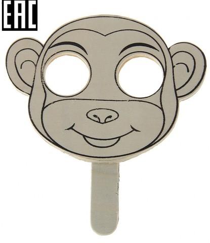 3600 Деревянная маска с ручкой