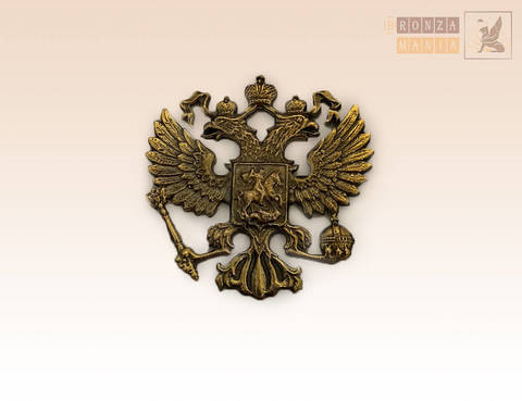 накладка Герб России 3,5х3,5 см