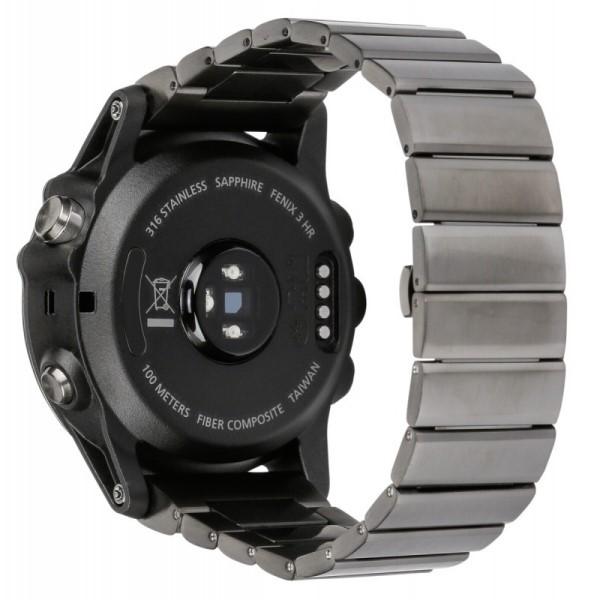 Fenix 3 Sapphire HR с металлическим ремешком