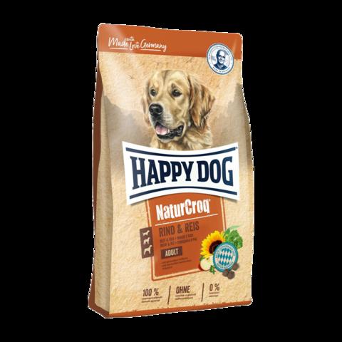 Happy Dog NaturCroq Сухой корм для собак с говядиной и рисом