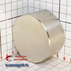 Неодимовый магнит диск 60*30 мм