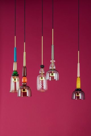 Pendant light Flauti 02 by Giopatto & Coombes
