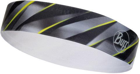 Ободок резинка широкий Buff Hairband Wide R-Focus Grey