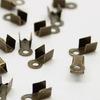 Концевик для шнура 3 мм, 9х3 мм (цвет - античная бронза), 20 штук