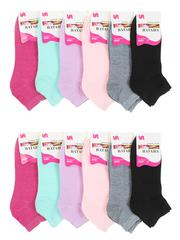 8087 носки женские 37-41 (12 шт.) цветные