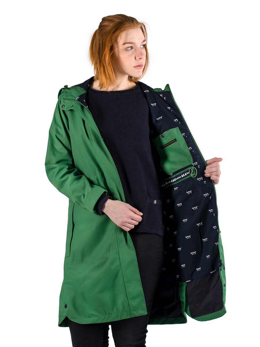 Barbour куртка Sleet Jacket Clover
