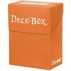 Ultra Pro - Оранжевая коробочка на 60 карт