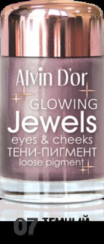 Alvin D`or Тени-пигмент для век Jewels  тон 07  AES-17 ,3г