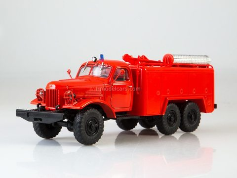 ZIL-157 AT-2 (157) technical service vehicle red 1:43 Legendary trucks USSR #9