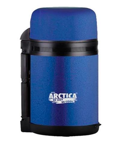 Термос «Арктика» универсальный с широким горлом синий 800 мл