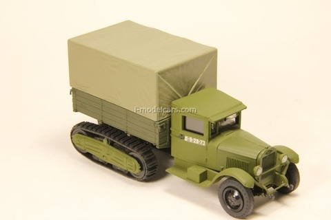 ZIS-22 with awning 1:43 Miniclassic