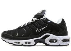 Кроссовки Мужские Nike Air Max Plus (TN)  Black White
