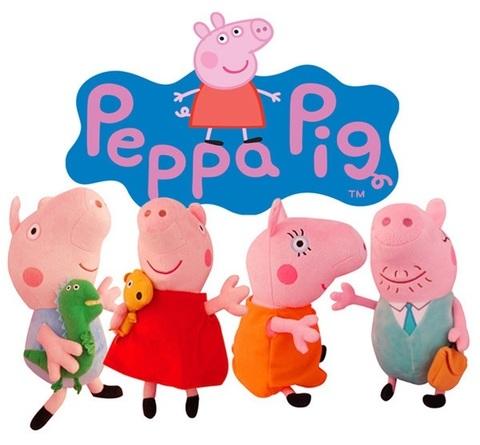 Peppa Pig Family Mini Plush