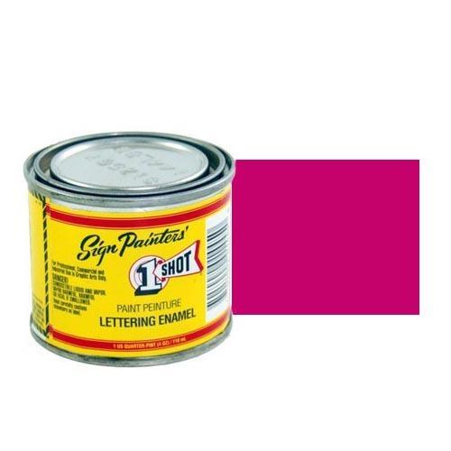 165-L Эмаль для пинстрайпинга 1 Shot Красный рубин (Rubine Red), 118 мл