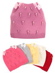 F76-5 шапка детская, цветная (флис)