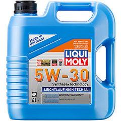 39006 LiquiMoly НС-синт. мот.масло Leichtlauf High Tech LL 5W-30 CF/SL A3/B4 (4л)