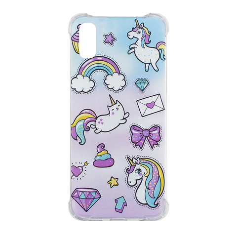 Чехол для IPhone X Cupcake Unicorn