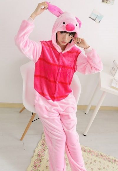 Пижамы кигуруми Пятачок Дисней пятачок1.jpg