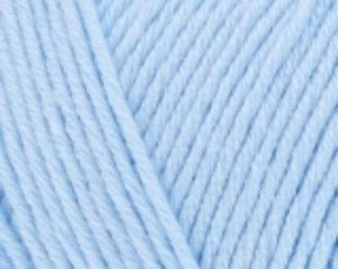 Пряжа Cotton BABY SOFT (Alize) 183 светло-голубой
