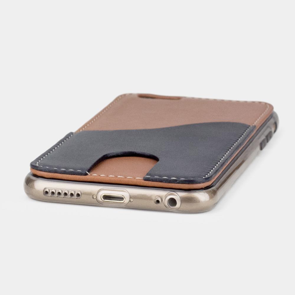 Чехол-накладка Andre для iPhone 6/6s Plus из натуральной кожи теленка, коричневого цвета