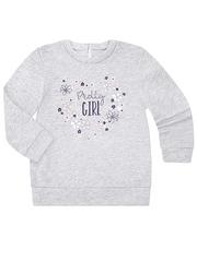 GAC010425 Джемпер для девочек, серый меланж