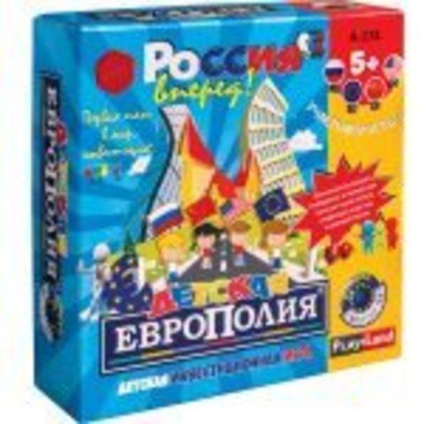 Наст. игра Детская европолия /А-174