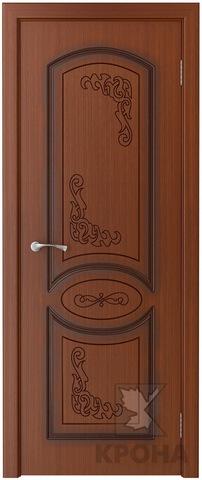 Дверь Крона Муза, цвет макоре, глухая