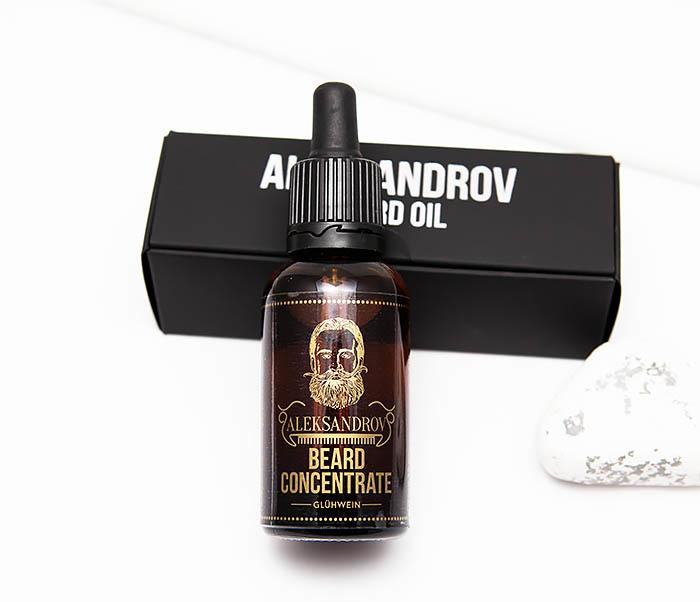 RAZ421 Масло для роста бороды Aleksandrov «Beard Concentrate Glühwein» (30 мл) фото 02