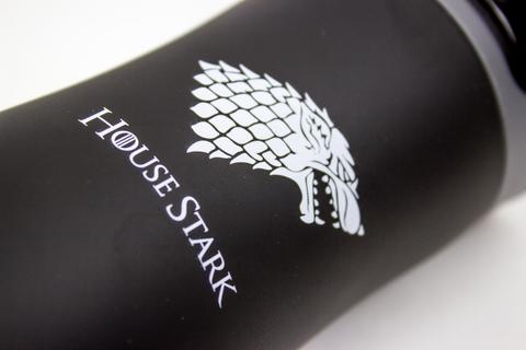 Термокружка el Gusto «Нouse stark», черного цвета 470 мл