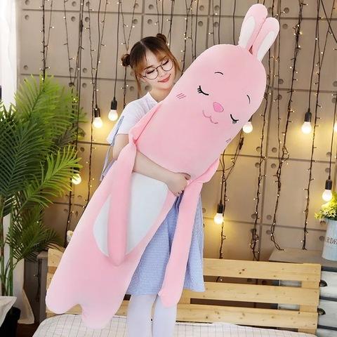 Подушка заяц sleep 90 см