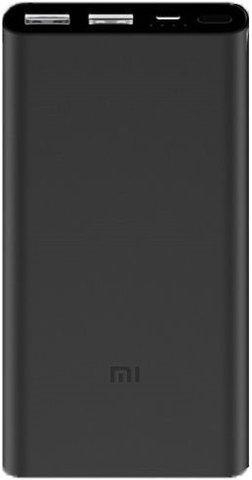 Аккумулятор Xiaomi Mi Power Bank 2s 10000 (черный)