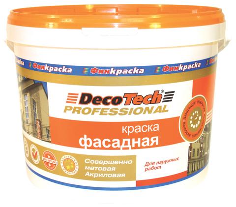 «Краска фасадная» DecoTech