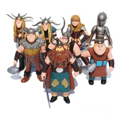 Как приручить дракона 2 набор фигурок персонажей