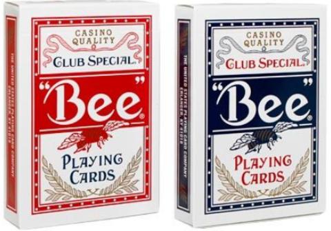 Карты Bee (без пчел) Standard