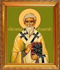 Тарасий Цареградский патриарх. Икона на холсте.