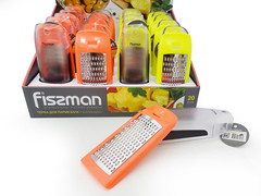 7208 FISSMAN Терка для сыра с контейнером 17 см