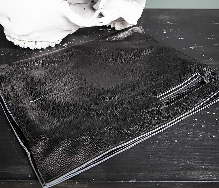 BAG494-1 Мужская сумка папка из мягкой натуральной кожи фото 10