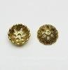 Шапочка для бусины (цвет - античное золото) 20х6 мм