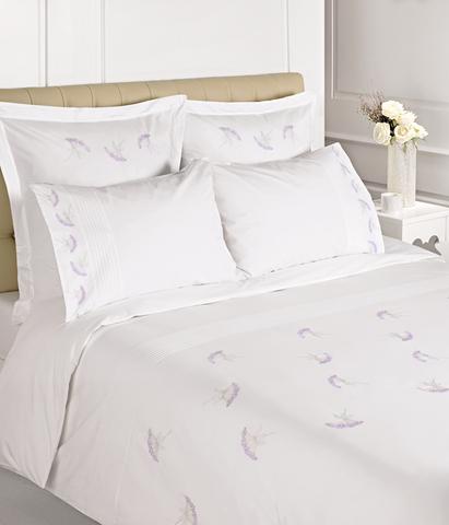 Постельное белье 1.5 спальное Bovi Gardenia белое
